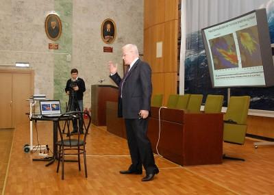 Отчет директора ИО РАН о деятельности Института в 2010 году