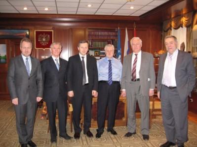 Встреча с Председателем Совета Федерации